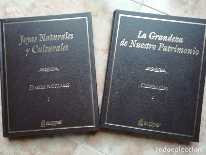 Enciclopedias de segunda mano: JOYAS NATURALES Y CULTURALES, LA GRANDEZA DE NUESTRO PATRIMONIO. 15 TOMOS. ED. NUMERADA, CERTIFICADO - Foto 2 - 184260277