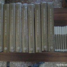 Enciclopedias de segunda mano: LA HISTORIA EN SU LUGAR.NUEVA HISTORIA DE ESPAÑA PLANETA10 TOMOS +10 DVDS.TODO PRECINTADO. Lote 184453740