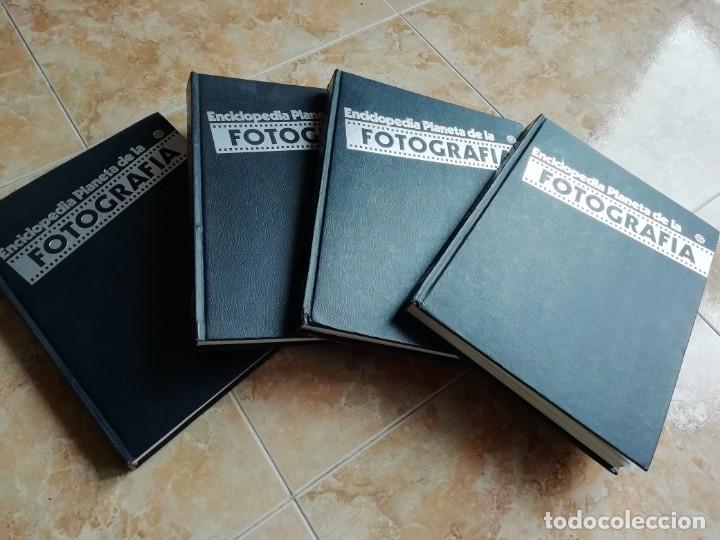 ENCICLOPEDIA PLANETA DE LA FOTOGRAFÍA. TOMOS 2,3,4 Y 6. FOTOS GRAN FORMATO. (Libros de Segunda Mano - Enciclopedias)