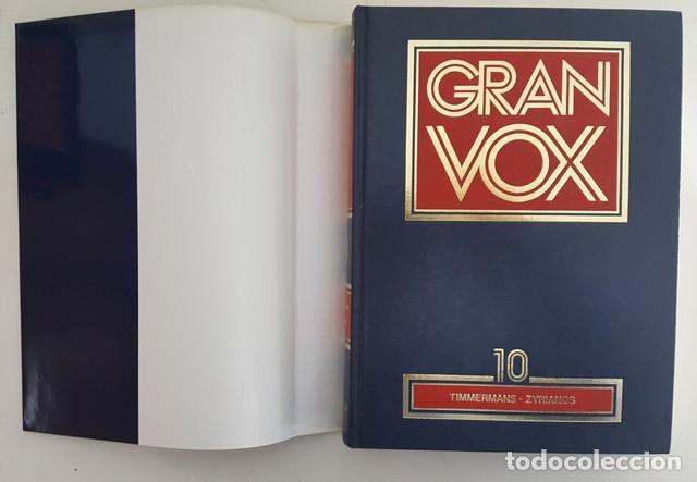 Enciclopedias de segunda mano: DICCIONARIO ENCICLOPEDICO GRAN VOX COMPLETA 10 TOMOS + 4 APENDICES, BIBLIOGRAF 1990, VER DESCRIPCION - Foto 4 - 186171923