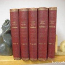 Enciclopedias de segunda mano: HISTORIA DE LA HUMANIDAD F. LAUREN (SALMERÓN,F. DE LOS RÍOS Y RODRIGUEZ PINILLA 5 VOLS COMPLETA ENCI. Lote 188719295