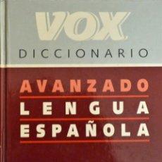 Enciclopedias de segunda mano: DICCIONARIO AVANZADO DE LA LENGUA ESPAÑOLA. VOX.. Lote 188825746
