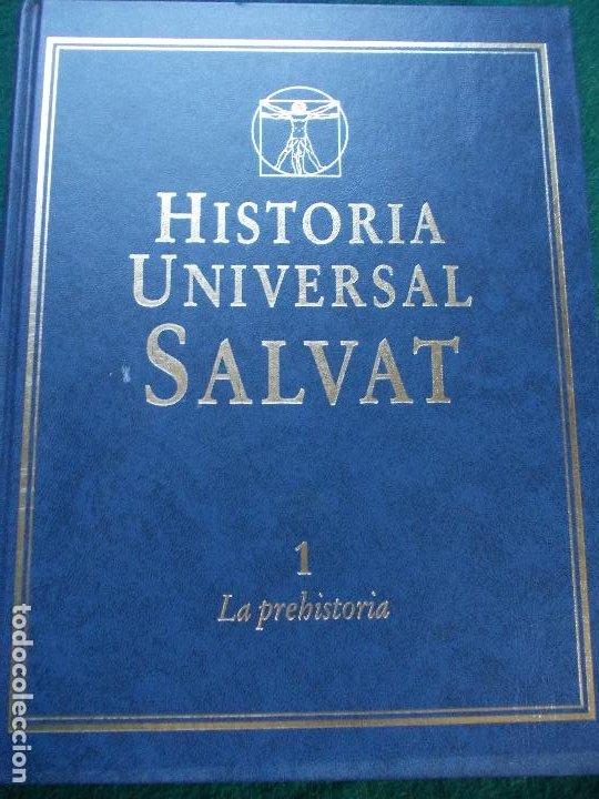 Enciclopedias de segunda mano: HISTORIA UNIVERSAL SALVAT 17 TOMOS PRECIO INCLUIDO CERTIFICADO - Foto 3 - 189413883