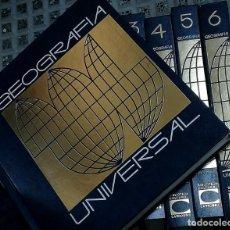 Enciclopedias de segunda mano: GEOGRAFÍA UNIVERSAL (6 TOMOS). Lote 189467958