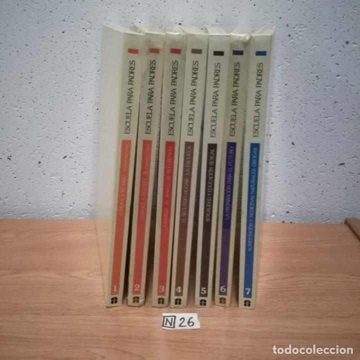 ESCUELA PARA PADRES ENCICLOPEDIA 7 TOMOS (Libros de Segunda Mano - Enciclopedias)