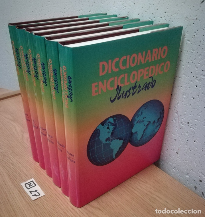 Enciclopedias de segunda mano: Diccionario enciclopédico ilustrado seis tomos - Foto 2 - 189587268