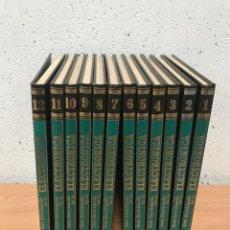 Enciclopedias de segunda mano: GRAN ENCICLOPEDIA DE LA ELECTRÓNICA - 12 TOMOS COMPLETA. Lote 189594312
