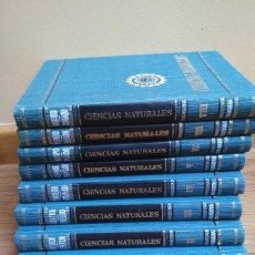 Enciclopedias de segunda mano: ENCICLOPEDIA DE CIENCAS NATURALES - BRUGUERA 1966 - 8 VOLÚMENES. Lote 190066176