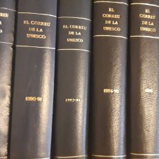 Enciclopedias de segunda mano: EL CORREU DE LA UNESCO. COLECCIÓN COMPLETA CATALÀ. Lote 190429677