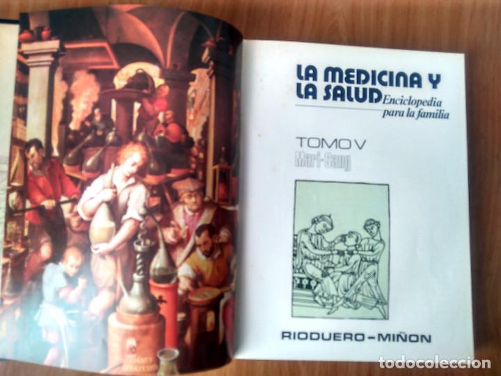 Enciclopedias de segunda mano: LA MEDICINA Y LA SALUD - COMPLETA: 7 VOLÚMENES- ED RIODUERO MIÑÓN 1973 - 2160 PAG - Foto 18 - 189895342