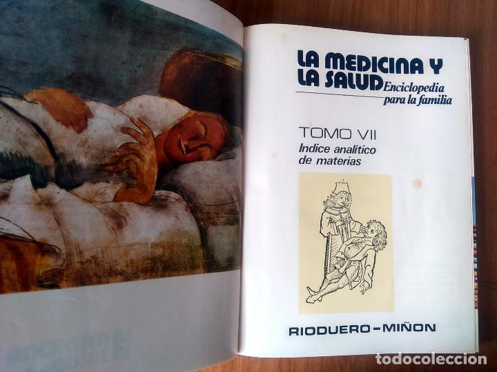 Enciclopedias de segunda mano: LA MEDICINA Y LA SALUD - COMPLETA: 7 VOLÚMENES- ED RIODUERO MIÑÓN 1973 - 2160 PAG - Foto 24 - 189895342