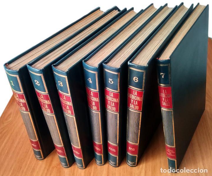 Enciclopedias de segunda mano: LA MEDICINA Y LA SALUD - COMPLETA: 7 VOLÚMENES- ED RIODUERO MIÑÓN 1973 - 2160 PAG - Foto 2 - 189895342