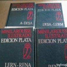 Enciclopedias de segunda mano: MINILAROUSSE MINI LAROUSSE ILUSTRADO EDICIÓN PLATA - CÍRCULO DE LECTORES. Lote 191064320