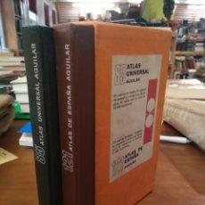 Enciclopedias de segunda mano: ATLAS. AGUILAR. UNIVERSAL. ESPAÑA. Lote 191088960