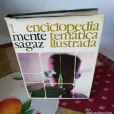 Enciclopedias de segunda mano: ENCICLOPEDIA TEMÁTICA ILUSTRADA MENTE SAGAZ - VOL 1 - 1970 ED. VERGARA. Lote 191148436