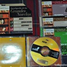 Enciclopedias de segunda mano: ENCICLOPEDIA DE LAS GRANDES NOVELAS, 4 CD-ROM. Lote 191300641