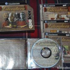 Enciclopedias de segunda mano: HISTORIA UNIVERSAL DE LA LITERATURA EN 4 CD-ROMS. Lote 191300936