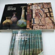 Enciclopedias de segunda mano: HISTORIA DEL ARTE PUJOAN TOMO 1, 3 Y 4. Lote 191794523
