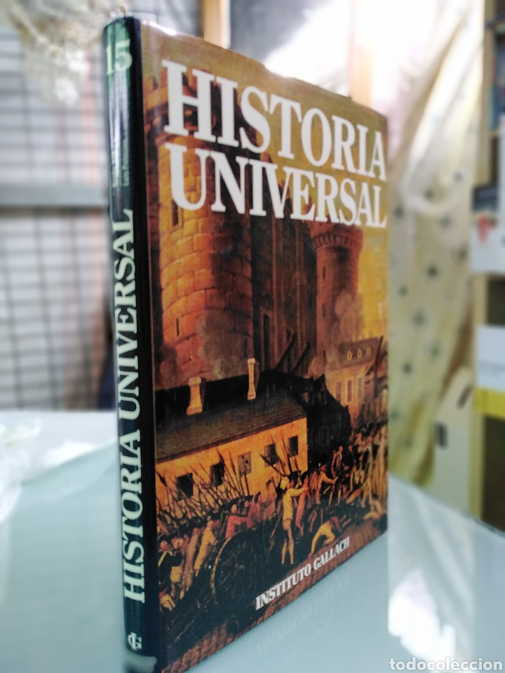 HISTORIA UNIVERSAL - VOLUMEN 15 - SIGLO XIX - INSTITUTO GALLACH (Libros de Segunda Mano - Enciclopedias)