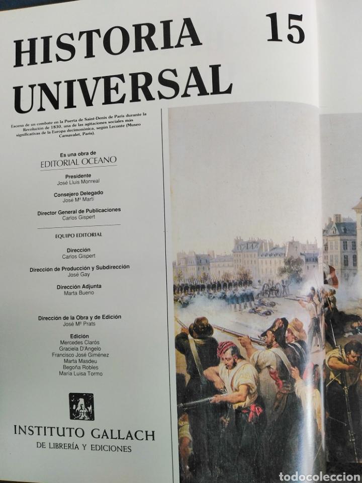 Enciclopedias de segunda mano: HISTORIA UNIVERSAL - VOLUMEN 15 - Siglo XIX - Instituto Gallach - Foto 6 - 191976083