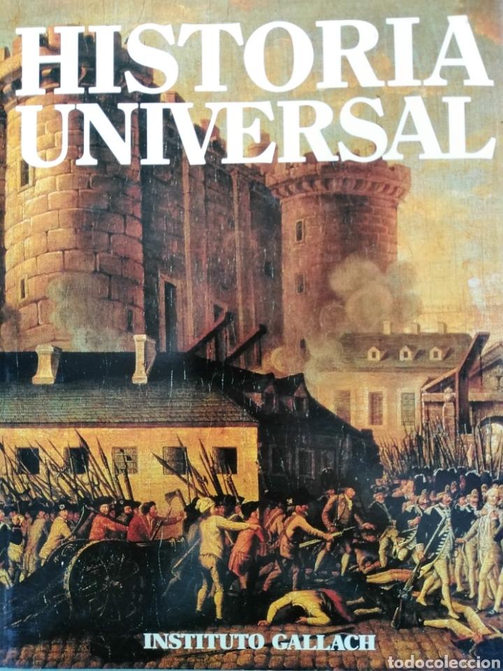 Enciclopedias de segunda mano: HISTORIA UNIVERSAL - VOLUMEN 15 - Siglo XIX - Instituto Gallach - Foto 2 - 191976083