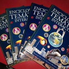 Enciclopedias de segunda mano: ENCICLOPEDIA TEMÁTICA INTERACTIVA 4 TOMOS COMPLETA . JARCA 2002. Lote 192004602