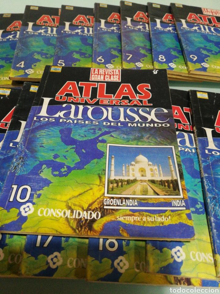 Enciclopedias de segunda mano: ATLAS UNIVERSAL LOROUSSE - Foto 2 - 192031120
