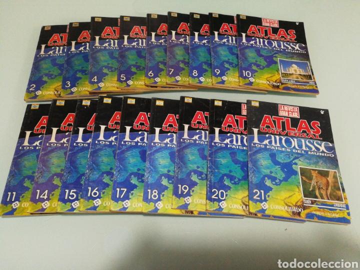ATLAS UNIVERSAL LOROUSSE (Libros de Segunda Mano - Enciclopedias)