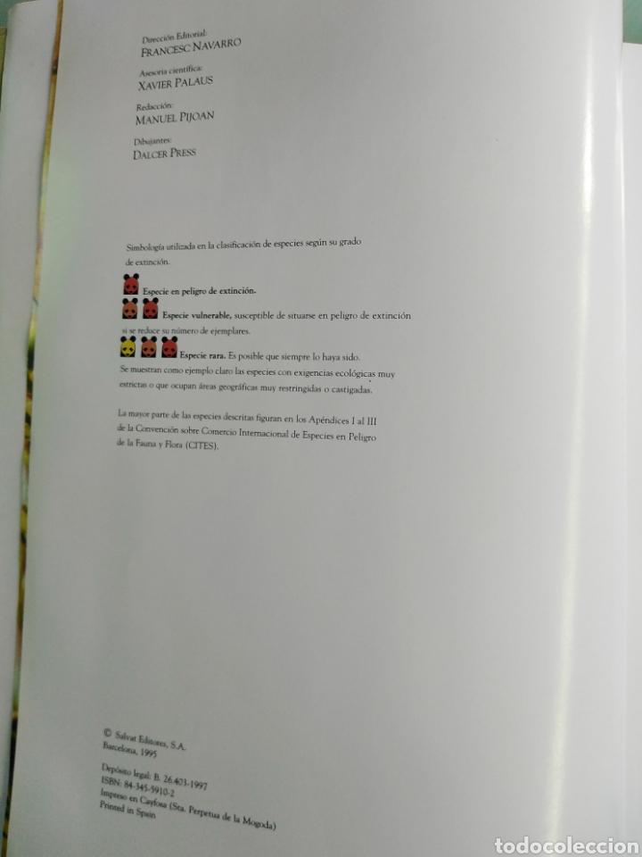 Enciclopedias de segunda mano: ENCICLOPEDIA SALVAT DE LA FAUNA MUNDIAL - ANIMALES EN PELIGRO - Foto 4 - 192042758