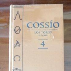 Livros em segunda mão: ENCICLOPEDIA TAURINA COSSIO. LOS TOROS. EL TOREO. VOLUMEN 4. ESPASA CALPE. 2007. 703 PAG. SIN ABRIR.. Lote 192700817
