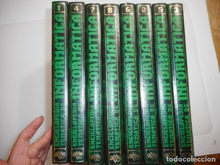 VV.AA ENCICLOPEDIA TEMÁTICA DE INFORMÁTICA (8 TOMOS) Y98402T (Libros de Segunda Mano - Enciclopedias)