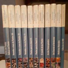 Libri di seconda mano: ENCICLOPEDIA DE MEDICINA NATURAL Y SALUD EDITORIAL RUEDA 10 TOMOS. Lote 193032722