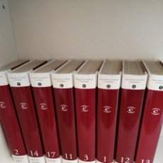 Enciclopedias de segunda mano: ENCICLOPEDIA UNIVERSAL ESPASA EL MUNDO 18 TOMOS. Lote 193618771