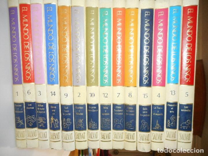 EL MUNDO DE LOS NIÑOS (15 TOMOS) Y98585T (Libros de Segunda Mano - Enciclopedias)
