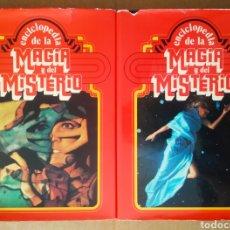Enciclopedias de segunda mano: ENCICLOPEDIA DE LA MAGIA Y DEL MISTERIO: VOLÚMENES 1 Y 2. COMPLETA (MATEU/NAUTA, 1975).. Lote 193922447