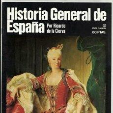 Enciclopedias de segunda mano: LA PAZ DE UTRECHT / HISTORIA GENERAL DE ESPAÑA, 4 (RICARDO DE LA CIERVA) – PLANETA, 1980. Lote 54567239