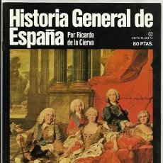 Enciclopedias de segunda mano: LA GRAN ÉPOCA DE PATIÑO / HISTORIA GENERAL DE ESPAÑA, 5 (RICARDO DE LA CIERVA) – PLANETA, 1980. Lote 54567307