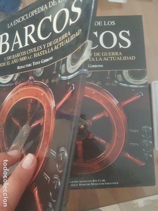 Enciclopedias de segunda mano: LA ENCICLOPEDIA DE LOS BARCOS /1500 BARCOS CIVILES Y DE GUERRA/DESDE EL AÑO 5000 A.C. A LA ACTUALIDA - Foto 2 - 194201700