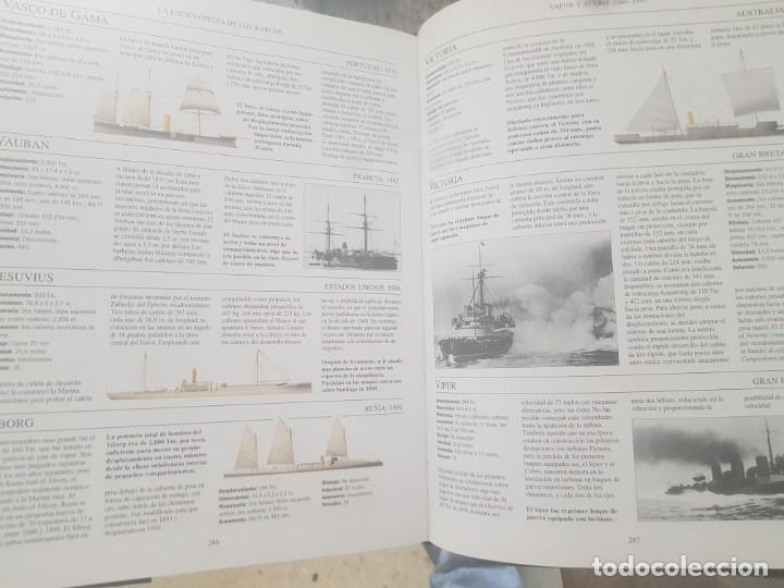 Enciclopedias de segunda mano: LA ENCICLOPEDIA DE LOS BARCOS /1500 BARCOS CIVILES Y DE GUERRA/DESDE EL AÑO 5000 A.C. A LA ACTUALIDA - Foto 3 - 194201700
