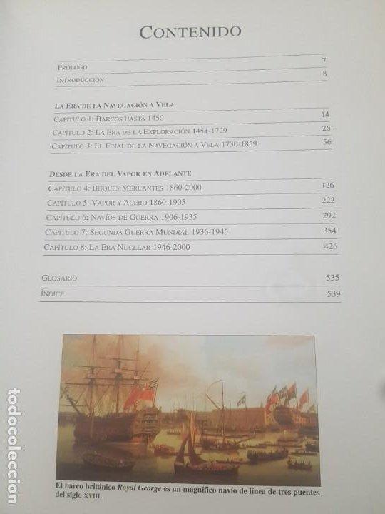 Enciclopedias de segunda mano: LA ENCICLOPEDIA DE LOS BARCOS /1500 BARCOS CIVILES Y DE GUERRA/DESDE EL AÑO 5000 A.C. A LA ACTUALIDA - Foto 7 - 194201700