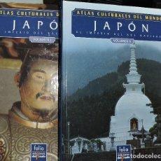 Enciclopedias de segunda mano: JAPÓN TOMO I Y II. COLLCUT, MARTIN; JESEN, MARIUS; KAMAKURA, ISAO. COL. ATLAS CULTURALES DEL MUNDO. . Lote 194367435