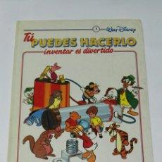 Enciclopedias de segunda mano: TU PUEDES HACERLO INVENTAR ES DIVERTIDO TOMO 1. Lote 194541582