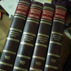 Enciclopedias de segunda mano: DICCIONARIO HERALDICO Y NOBILIARIO. (4 TOMOS COMPLETOS). ENCI-4. Lote 194566786