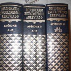 Enciclopedias de segunda mano: APENDICES ESPASA CALPE.. Lote 194587277
