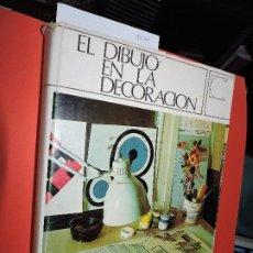 Enciclopedias de segunda mano: EL DIBUJO EN LA DECORACIÓN. COL. ENCICLOPEDIA CEAC DE DECORACIÓN. ED. CEAC. BARCELONA 1975. 4ª EDICI. Lote 194759852