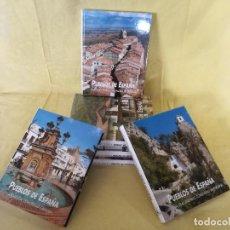 Enciclopedias de segunda mano: ENCICLOPEDIA PUEBLOS DE ESPAÑA, EDICIONES RUEDA, 6 TOMOS, 2002, MADRID. Lote 194763977