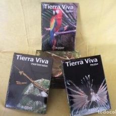 Enciclopedias de segunda mano: ENCICLOPEDIA TIERRA VIVA, AUPPER, 10 TOMOS, COMPLETA, PRECINTADOS. Lote 194764311