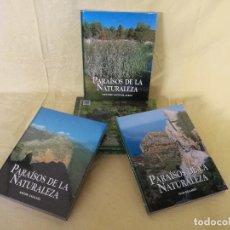 Enciclopedias de segunda mano: ENCICLOPEDIA PARAÍSOS DE LA NATURALEZA, 5 TOMOS, RUEDA, PRECINTADOS. Lote 194765535