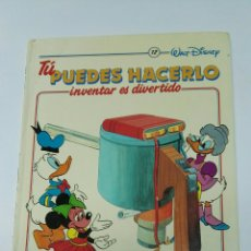 Enciclopedias de segunda mano: TU PUEDES HACERLO INVENTAR ES DIVERTIDO TOMO 12. Lote 194767778