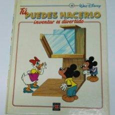 Enciclopedias de segunda mano: TU PUEDES HACERLO INVENTAR ES DIVERTIDO TOMO 10. Lote 194768105